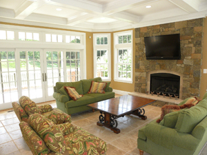 Family Room and Fireplace Addition Northern Virginia